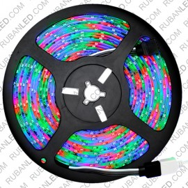 Ruban LED - 60LED/M - 3528 RGB - IP65