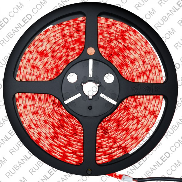 Ruban LED Professionnel 5 Mètres - 60LED/M - 3528 Rouge - IP65