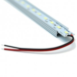 10 Barres LED Professionnel Rigides Blanc Chaud 60LED/M 50CM