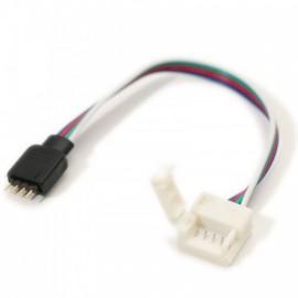 Connecteur ruban 5050 IP65 au Contrôleur Sans Soudure