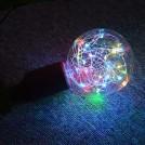Ampoule LED Design Vintage avec Lumière de Corde pour un Éclairage Décoratif