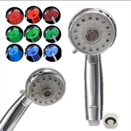 Pommeau de douche LED 3 modes et 3 couleurs