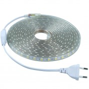 Ruban LED Professionnel - 5050 - 5 Mètres - 220V - IP67 - 60LED/Mètre