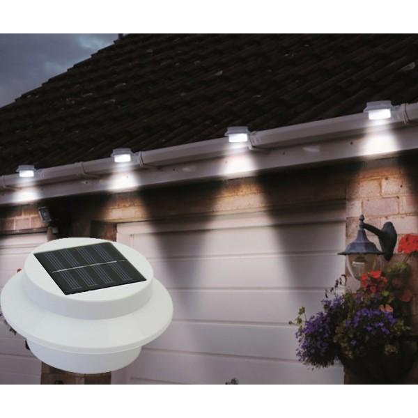 Lampe Solaire Gouttière 3 LED