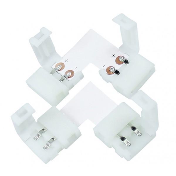 5 Connecteur L Entre Rubans-Rallonges LED 3528 IP20