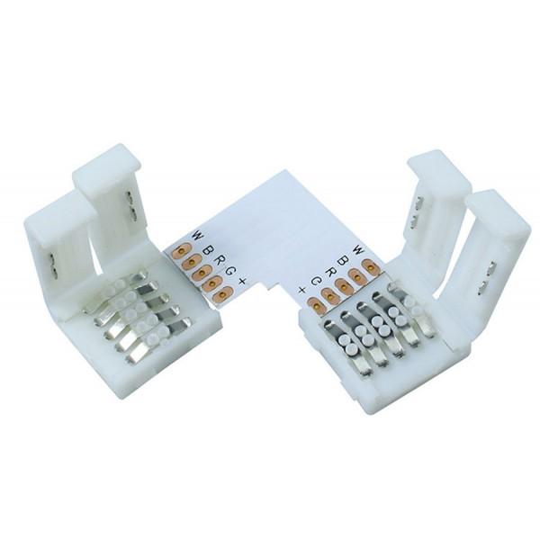 5 Connecteur L pour Rubans LED 5050 RGBW IP65