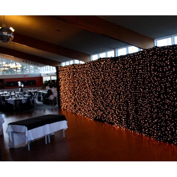 Rideau Lumineux LED 6 x 3 Mètres