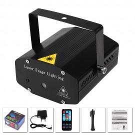 Mini Projecteur Laser et Commande Vocale