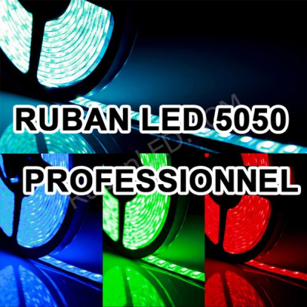 Ruban led 12v Commercial RGB 5050 IP65 60LED/M