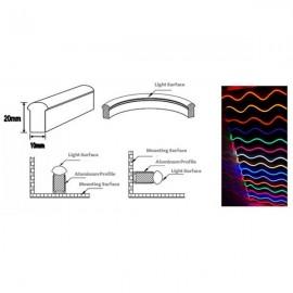 10 Clip de Fixation des Rubans LED Néon
