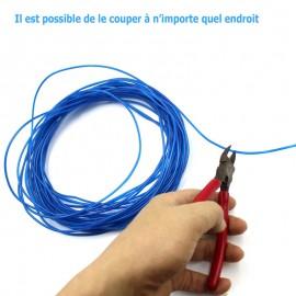 Néon Flexible Filaire LED 5 Fils avec Contrôleur et Batterie