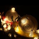 Guirlande Lumineuse LED en Métal Design Goutte à Goutte