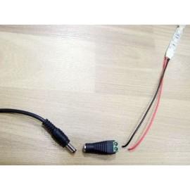 10 Connecteurs Mâles/Femelles du Ruban LED au Transformateur