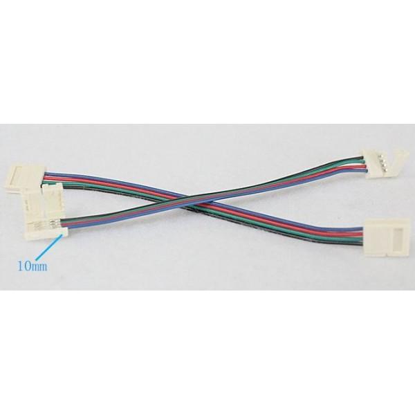 5 Connecteur avec Mini-Rallonge Ruban LED 5050 IP65 Vieu