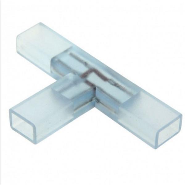 Connecteur Forme T pour Ruban 5050 Unicolore 220V IP68