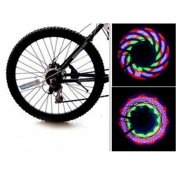 Accessoire Lumineux de Roue de Vélo