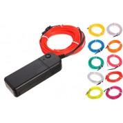 Néon Flexible Filaire LED avec Contrôleur et Batterie