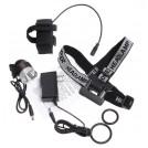 Lampe Clip pour Vélo/Casque 1200 Lumens CREE XM-L T6