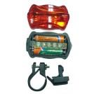 Duo de Lampes pour Vélo 5 LED