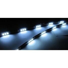 Bande LED Blanche 30 cm pour la Voiture x2