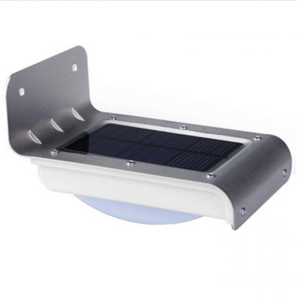 Applique LED Solaire avec Détection de Mouvement