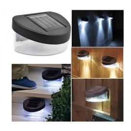 Ensemble 2 Spots LED Mural Extérieur - Lampe Solaire