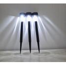 Lampe de Jardin Borne Solaire LED Lot de 5