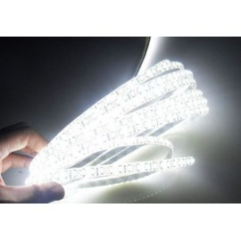 Ruban LED Professionnel Flexible 120LED/M 3528 - IP 65 de 5M Blanc Pur