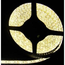 Ruban LED 5 Mètres - 120LED/M - 3528 Blanc Chaud - IP65