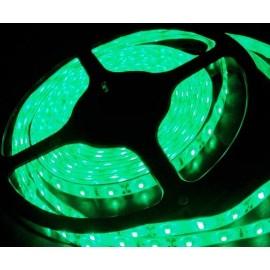 Ruban LED Professionnel 5 Mètres - 60LED/M - 3528 Vert - IP65