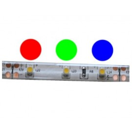 Ruban LED Professionnel RGB 3528 - 60LED/M - IP65 - Kit Complet