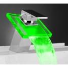 Robinet LED Mitigeur pour Salle de Bain avec Changement de Couleur