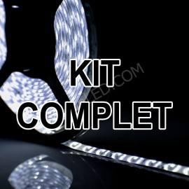 Kit Complet Ruban led 12v 3528 IP65 60LED/M