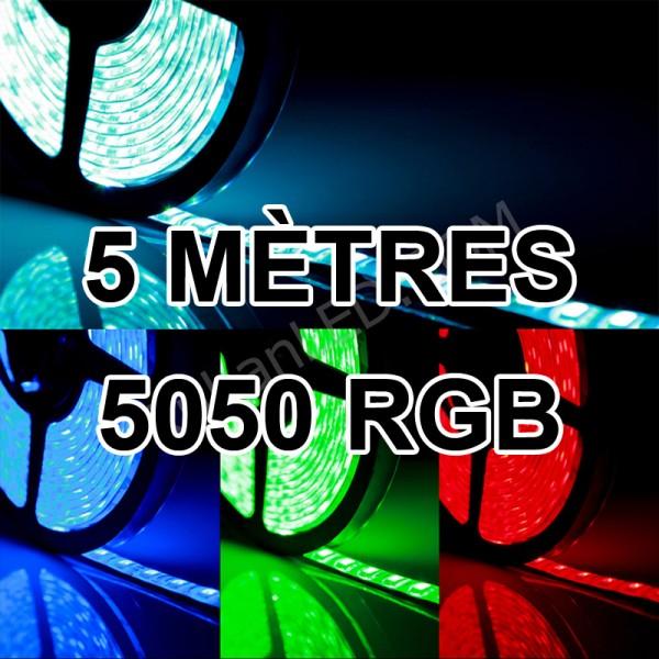 Ruban led 12v 5050 IP65 60LED/M
