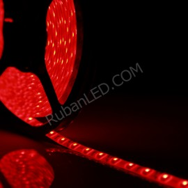 Ruban LED 5 Mètres - 60LED/M - 3528 Rouge - IP65