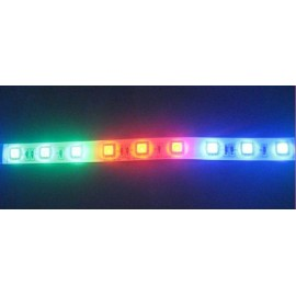 Ruban LED Professionnel Arc-en-Ciel - IP65 - Type 5050 - 60LED/m - RGB