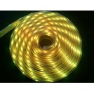 Ruban LED Submersible Professionnel Jaune - 5 Mètres IP68 - 60LED/M - 5050