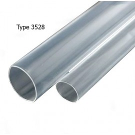 Tube Thermo-Rétractable Transparent pour Étanchéité - 1m - Type 3528