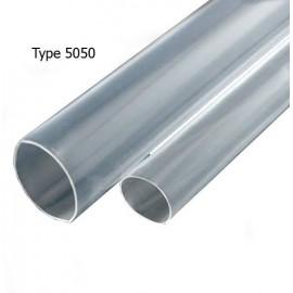 Tube Thermo-Rétractable Transparente pour Étanchéité - 1m - Type 5050