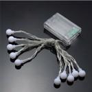 Guirlande Lumineuse LED sur Batterie pour Usage Intérieur/Extérieur
