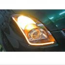 Deux Bandes LED Flexibles pour Phare Lumière de Jour