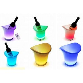 Seau à Glace LED Multicolore avec Télécommande